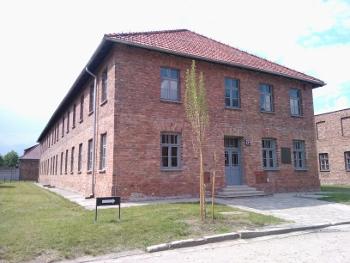 The New Shoah exhibition in block 27 in Auschwitz