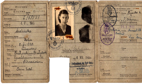 The Aryan Papers of Manya Gerszonowicz, 1942